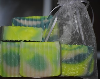 Margarita Lime rustic soap bar