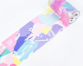 Washi tape-strokes and dots 4