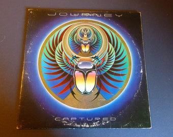 Journey Captured Vinyl Record LP C37017  Double Album Columbia Records 1981