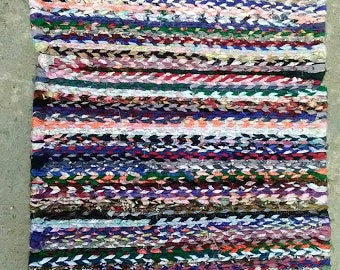 SCRAP TWINED RUG T018