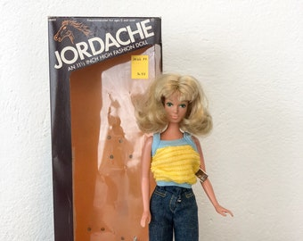 Vintage 1981 Jordache High Fashion Doll