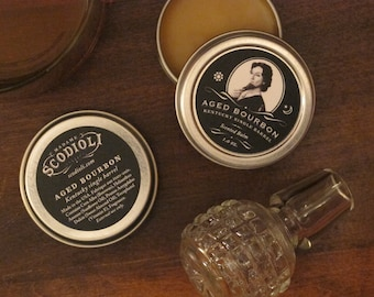 Aged Bourbon - Kentucky Single Barrel Scented Balm
