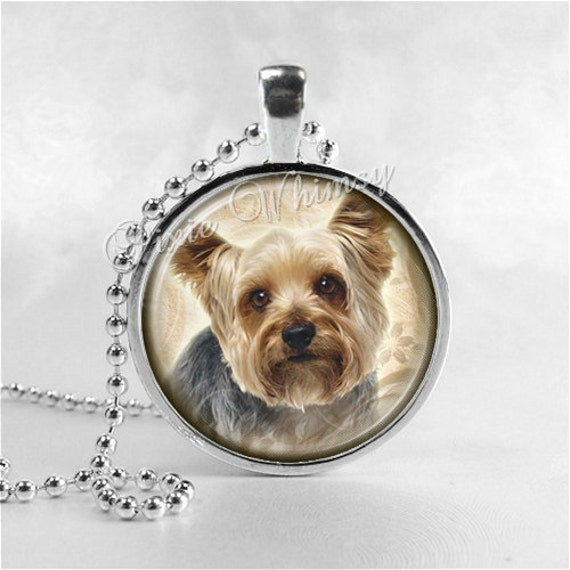 Yorkshire terrier necklace yorkie yorkshire terrier dog dog zoom aloadofball Image collections