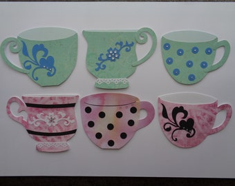 3 Coffee Cup Gift Card Holders - Tea Cups - Mother's Day - Teacher Gifts - Random Acts of Kindness