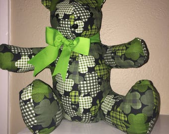 St. Pattick's Day Shamrock Teddy Bear