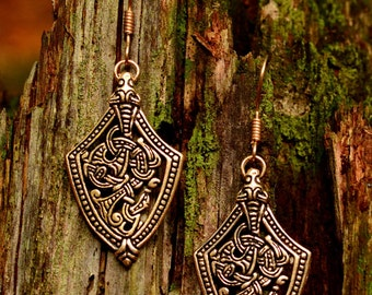 Earrings in Viking style - [07 OR 5 Ort/G1 A-3]