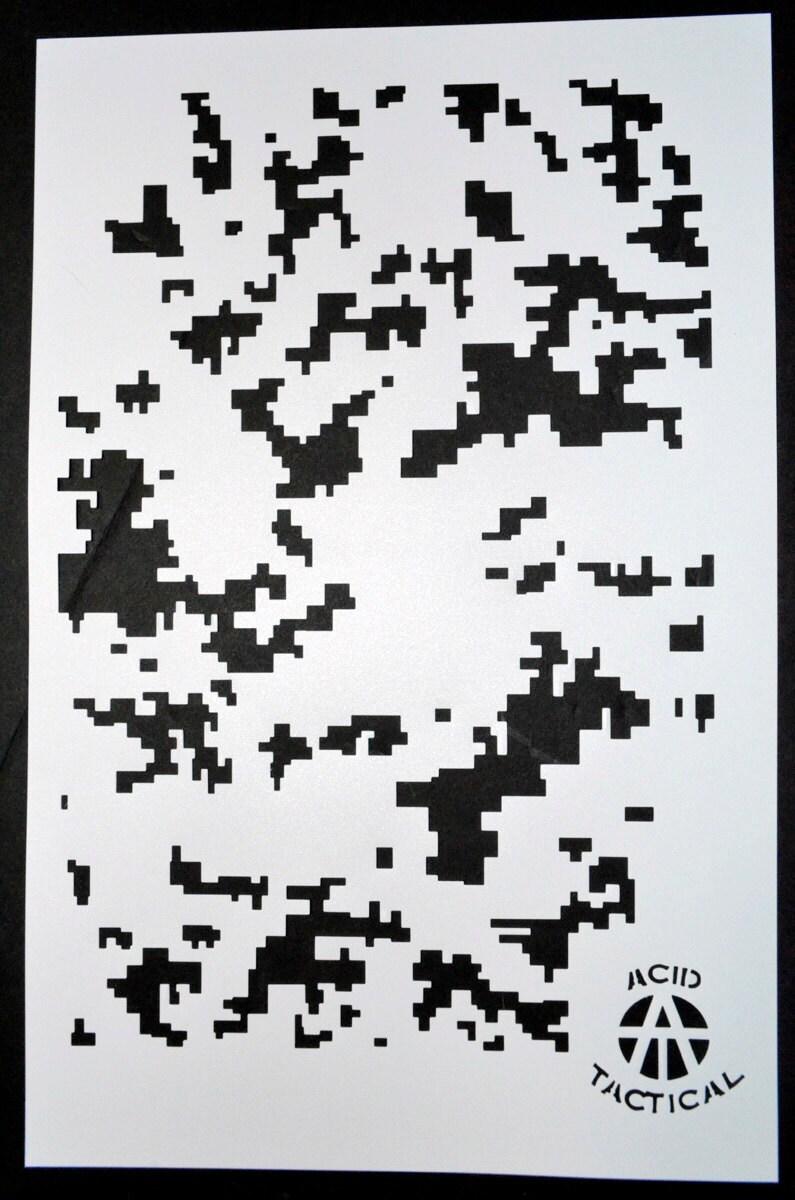 Ácido táctico® paquete de 2 9 x 14 camuflaje Pintura