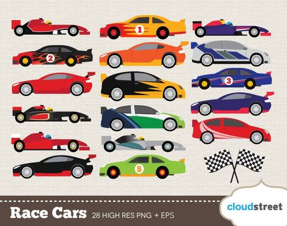 buy 2 get 1 free race car clip art racing car clipart racing rh etsystudio com Race Car Silhouette Clip Art Animated Race Car Clip Art