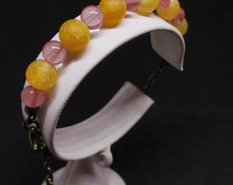 Fun Colors bead bracelet