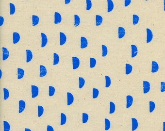 Print Shop - Moons Blue - Alexia Marcelle Abegg - Cotton and Steel (4035-03)