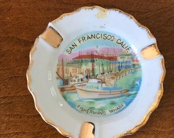 San Francisco Commemorative Plate - Fisherman's Wharf