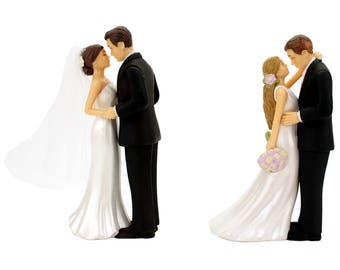 Wedding Cake Topper Bride and Groom Decorations Romantic Supplies