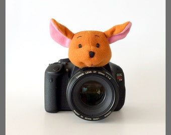 Lens Buddy, Camera Buddy, Photography Accessories, Kids/Children Photography Props, Camera Lens Accessories, Animal, Roo Baby Kangaroo