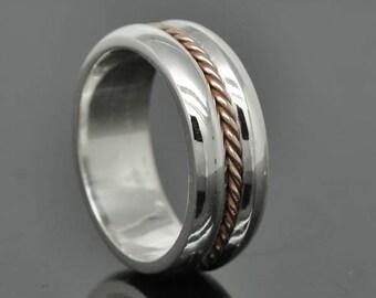 Wedding Band, Wedding Ring, Engagement Ring, Mens Ring, Mens Wedding Band, Man Wedding Ring Band, Men Promise Ring, Men Ring, 8mm