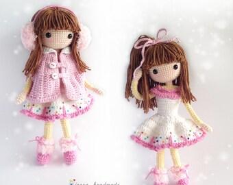 Amigurumi Doll Book : Victoria amigurumi doll crochet pattern pdf from carmenrent on