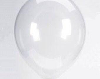 "12"" Clear Balloons   Confetti Balloons   Birthday Party Decor"