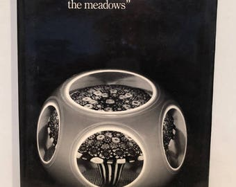 """Book Paperweights """"Flowers which Clothe the meadows""""Hollister & Lanmon 1978"""