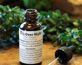 All Natural V/ c Over night serum