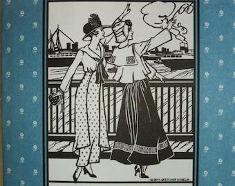 Folkwear 270 Metro Middy Blouse WWI Era Sewing Costume Pattern