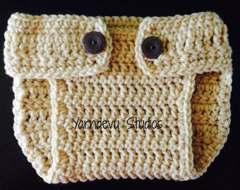 Diaper cover, crochet diaper cover
