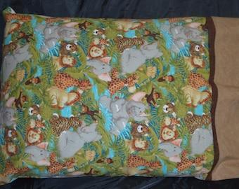 Jungle Themed Standard Pillow Case