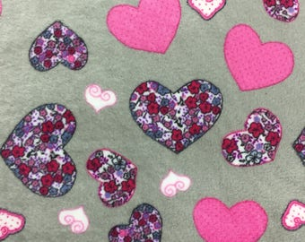 Purple Hearts blanket