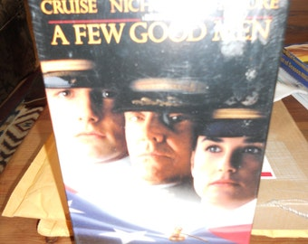 """Vintage VHS Movies Titled"""" A Few Good Men/ Never Opened"""