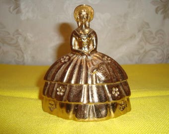 Brass Southern Belle Bell Dinner Bell Wedding Head Table Bell