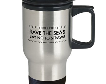 No straws travel mug