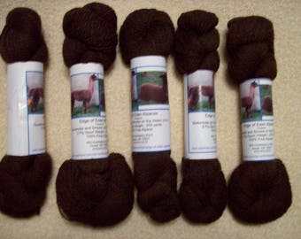 Alpaca Yarn – Gunsmoke and Smoke on the Water (2 ply sport weight)