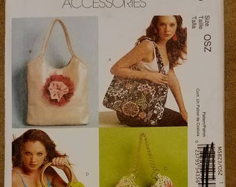 McCall's 5823 - Bag Pattern - Purse Pattern - Hand Bag Pattern - Fashion Accessories