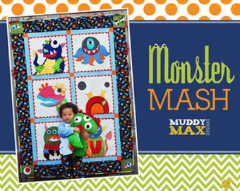 Monster Mash Muddy Max Pattern Booklet