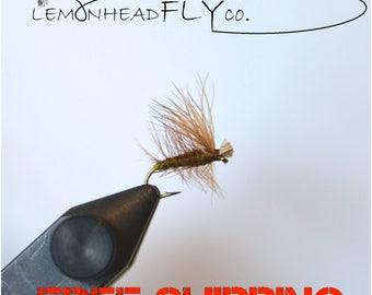 Qty(20) Elk Hair Caddis Fly