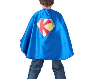 Set of 6 Custom personalized kids superhero capes, made to order, customizable