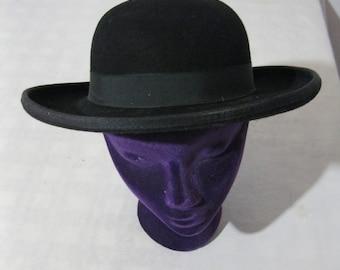 Old West hat - preacher / rendezvous