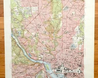 Bethesda map Etsy
