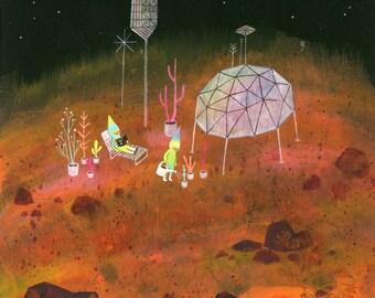 Mars Limited Edition Print