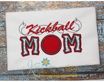 Kickball Mom Applique with a Twist