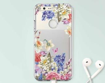 Floral Google Pixel XL 2 Case Pixel 2 Case Google Pixel 2 Case Google Pixel Case Samsung Galaxy 8 Plus Case Galaxy S8 Case Galaxy 6 CC1106