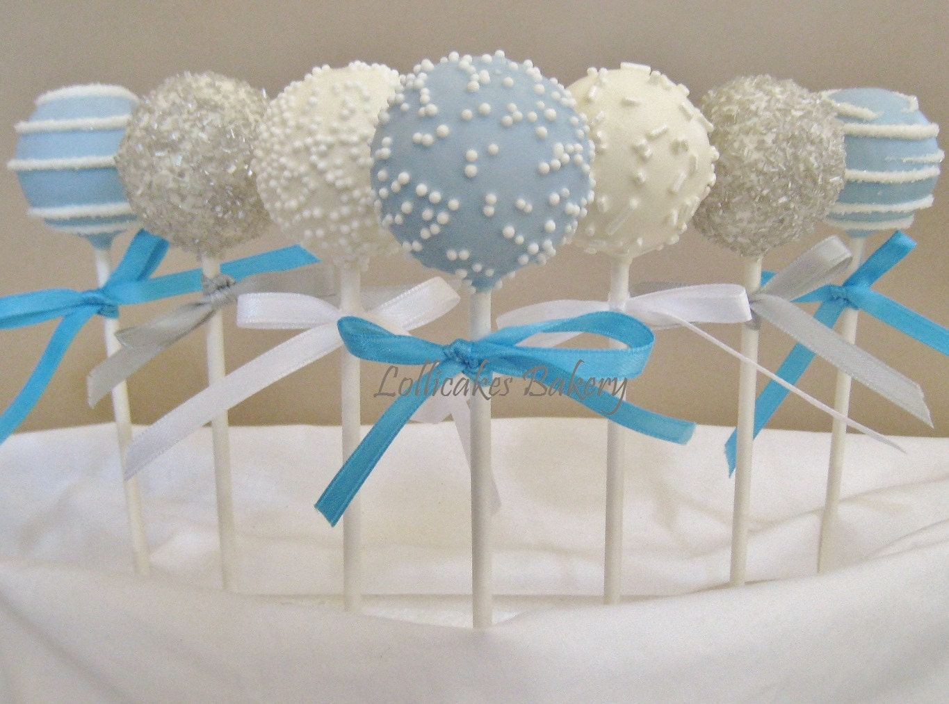 Cake Pops Winter Onederland Birthday Cake Pops Made to Order