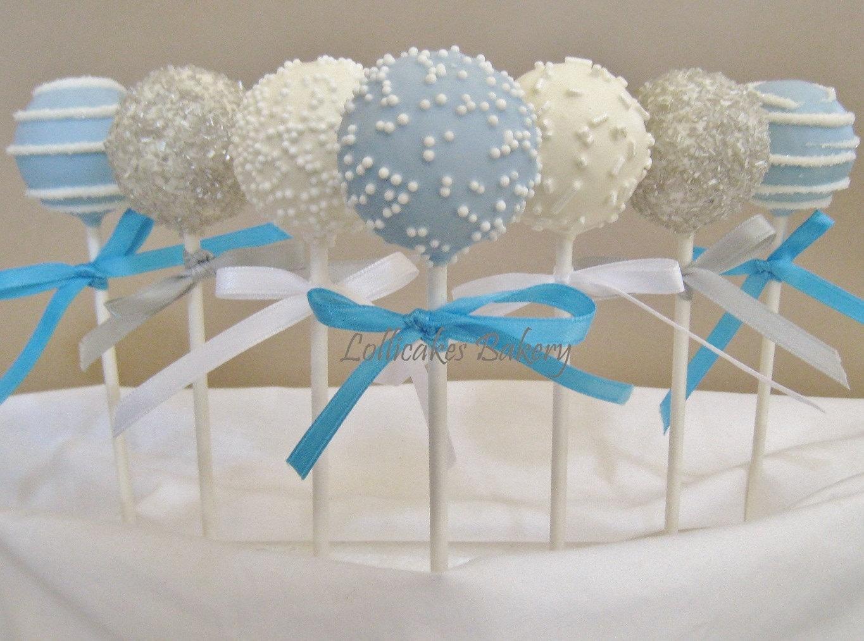Cake Pops Winter Onederland Birthday Cake Pops Made to Order