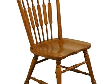 TELL CITY Young Republic Rock Maple Cattail Dining Side Chair 8034 Andover  Finish