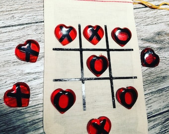 Tic tac toe valentines day gift