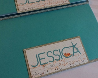 Beach Bat Mitzvah Invitation