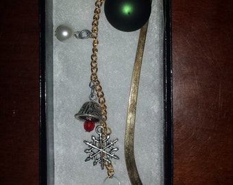 Christmas in June!  Beautiful & Practical Chain Bookmark