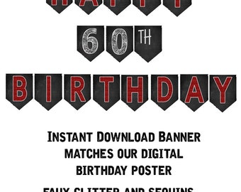 Items similar to 50th birthday banner 50th birthday party related to this item solutioingenieria Image collections