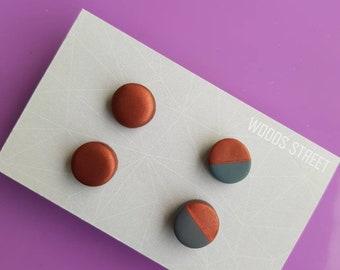 Polymer Clay Mini Studs #2