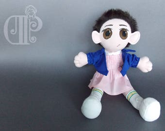 Eleven Stranger Things Plush Doll Plushie Toy