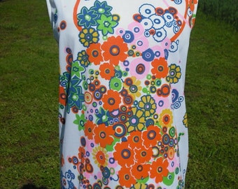 Awesome 60s Polyester Top Size Large