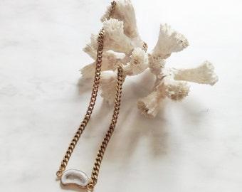 IMPALA - collier ras de cou - collier chaine - collier pierre, gemmes, agate - collier choker - hiver - pierre semi-précieuses - gypsy